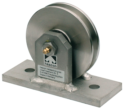 Pulley with Bracket 100mm ø – Rope ø 5-6.5mm – Sheave Stainless ...