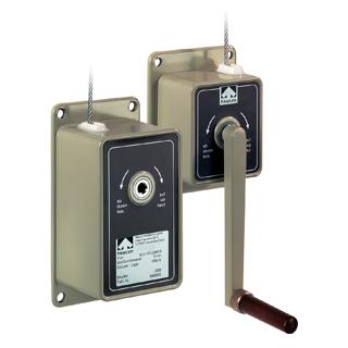 haacon-Wall/Column Mounted-Manual Cable Drum Winch-Alu Winch WA50/WA 100