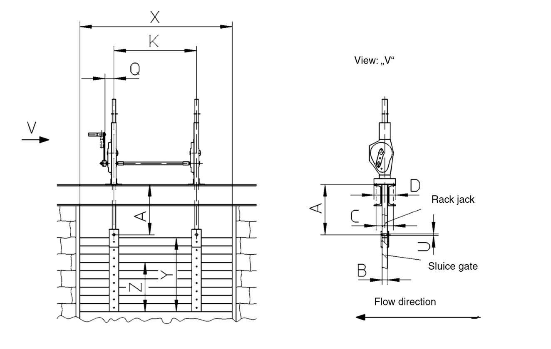 Sluice Gate Drive Enquiry Lifting Products Ltd